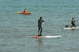 Stand Up Paddling in der Normandie