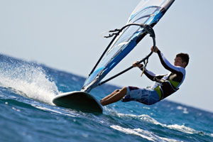 Windsurfen in der Normandie