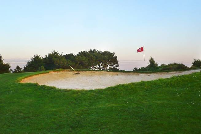 Golf in der Normandie